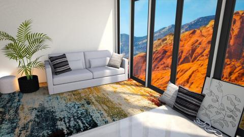 Jenna - Living room  - by Meghan White