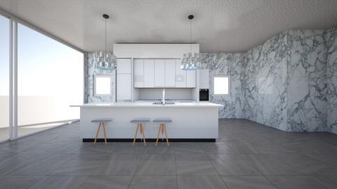 Ocean View Kitchen - Modern - Kitchen  - by Charginghawks