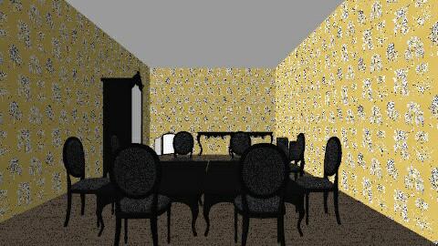 La La Cafe - Eclectic - Dining room - by HannahVerret222