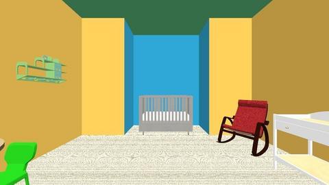 baby room - by nellga27