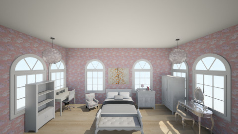 Popular Girl Room - Classic - Bedroom  - by Okeanos