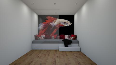 Red Chill - Living room  - by Riordan Simpson