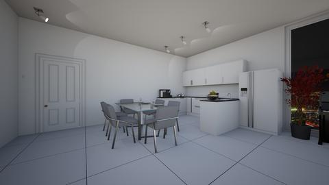 Apt kitchen and dinning  - by saratevdoska