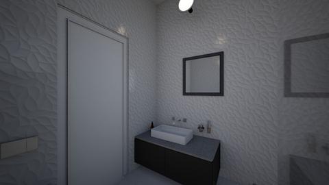 guest 1 - Bathroom  - by anahitm