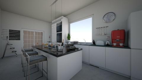 Minimal kitchen - Minimal - Kitchen  - by krisztinaa