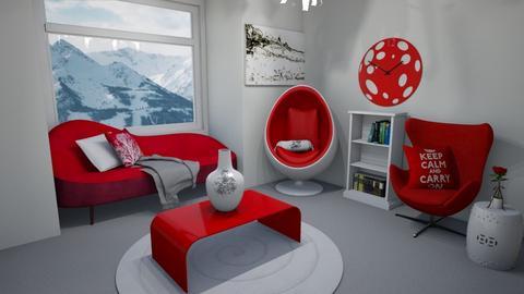eggxciting cosie room - Living room  - by Shan da farm freak