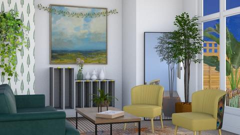 Contemporary Ivy - Living room  - by Seraphi