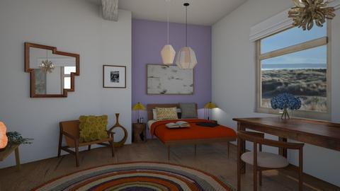 Soft Bedroom  - Minimal - Bedroom  - by zazhome