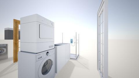 Salle de bain sous - Bathroom  - by pierre02