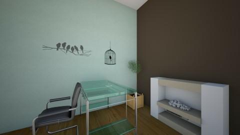 modern - Modern - Living room - by Hailey Baker