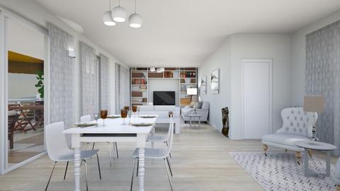 ottavo sol 1 - Living room - by gloria marietti
