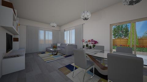 new living - Living room  - by iveto3131