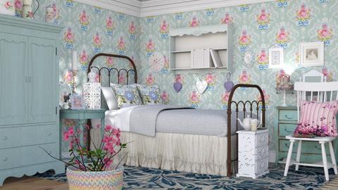 M_ S C - Bedroom  - by milyca8