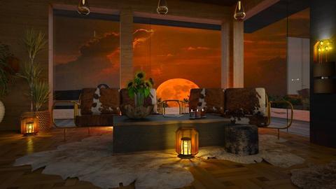 Full Moon - Living room  - by ZsuzsannaCs