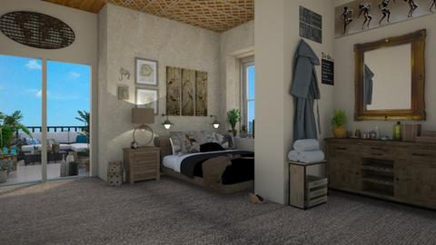 Terace Bedroom  - Bedroom  - by lpkinteriordesigns