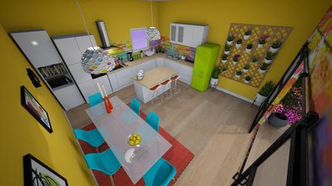 family home 178 - Modern - Kitchen - by Stavroula Chatzina