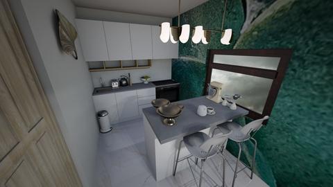 Cosy apartment Kitchen - Kitchen  - by MackenziePaige