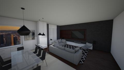 living and dining - Modern - Living room - by alejavsantos