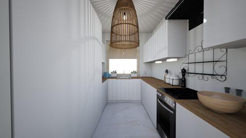 1 - Minimal - Kitchen  - by Lenamider