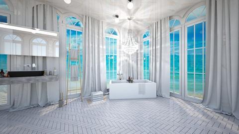 Luxury Minimalist Bath - Bathroom  - by zschmitt