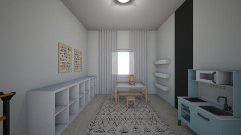 Noa Ashkenazi 1 - Kids room  - by erlichroni