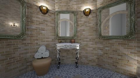 Turkish bathroom5 - Bathroom - by zainab alkaram