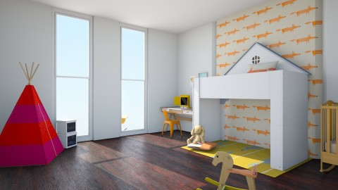 Foxy - Modern - Kids room  - by love Tully love