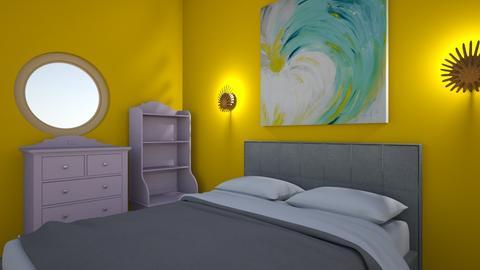 hhh - Bedroom  - by Naw Mary Phaw