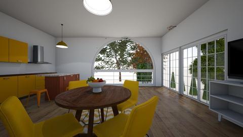 planting house - Modern - Kitchen  - by Livby