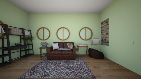 Claire_Library - Living room  - by 2022cfrench