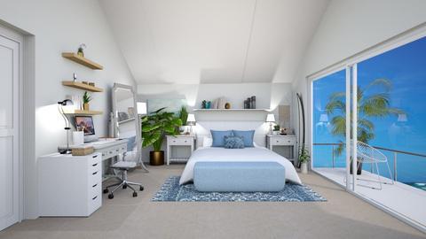 hawaii bedroom  - Bedroom - by imagine a world like dat