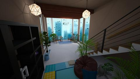 Rainy Room - Modern - Living room  - by Br3dcat