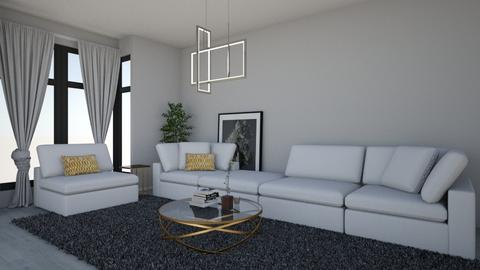 Serenity - Modern - Living room - by The Letter P