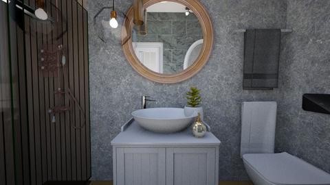 Cologno M bathroom 1c - Bathroom - by natanibelung