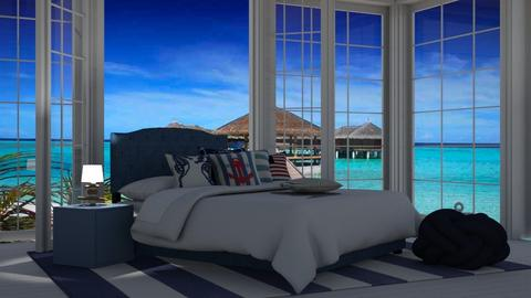 nautical bed - Bedroom  - by nat mi