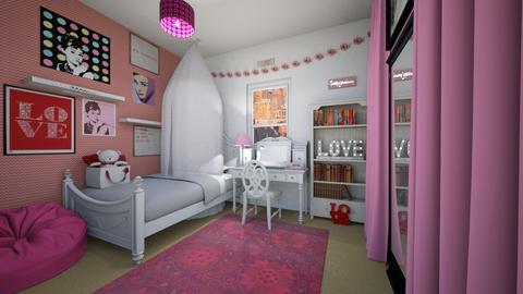 Daughter of Aphrodite - Bedroom - by SammyJPili