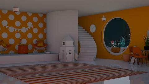 Orange Clubhouse - Retro - by Twice and Bp