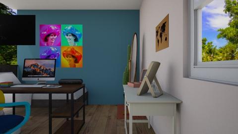 parte 2 - Bedroom - by Lia Ortiz
