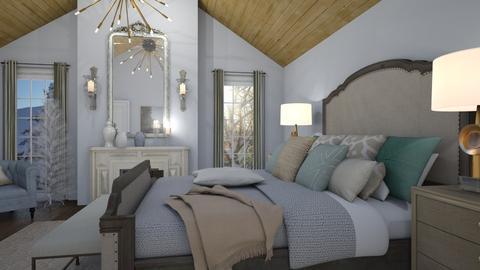 Cozy Winter - Bedroom  - by Muoz Rebeca