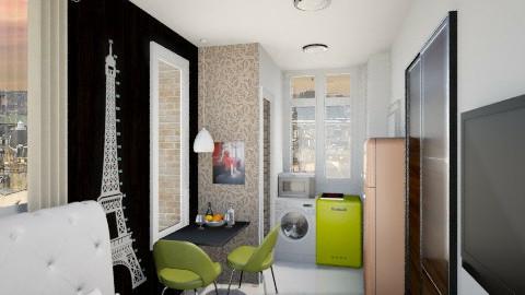 Paris tiny room2 - Minimal - by ayudewi