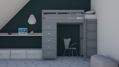 Blue - Kids room  - by matildabeast