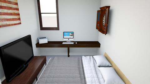 room1 - Classic - Bedroom  - by chalaaa