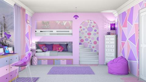 Pink Purple - by creato