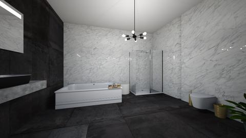 Master Bath - Bathroom  - by gabzzzzz123