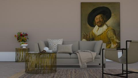 Beige - Classic - Living room  - by HenkRetro1960