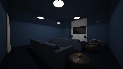 tv room - by rabani_dhingra