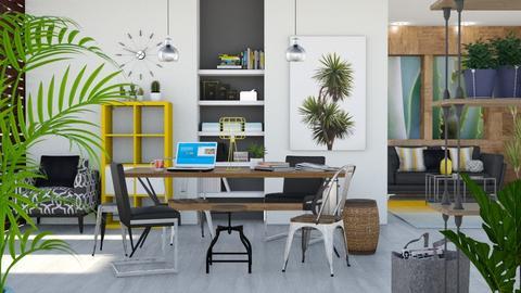 Jungle - Office  - by aniachoynowska