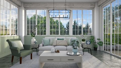 mint sunroom - by sara1010