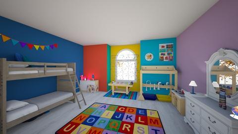 KIDS - Kids room  - by Alexcopeland
