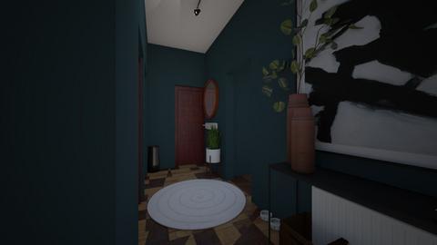 Hallway - by NinaBossicart